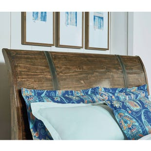 Nelson King Sleigh Headboard