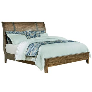 Nelson King Sleigh Bed