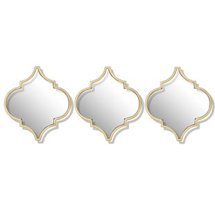 Delilah 3 Piece Wall Mirrors