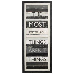 """""""Most Important"""" Framed Print"""