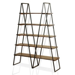 Living Edge 5 Tier Bookshelf