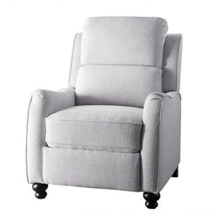 Push Back Sophia Recliner Light Gray