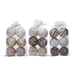 Natural Sola Ball Set