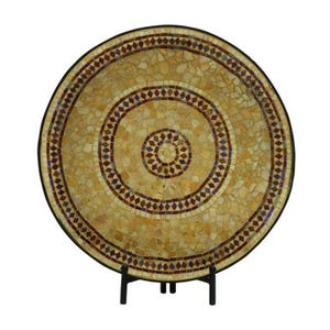 Sandstone Mosaic Charger