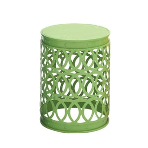 AVA Green Medium Round Indoor/Outdoor Table