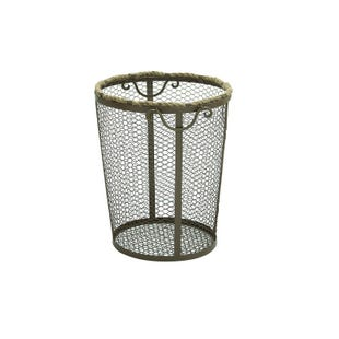 Medium Metal Rope Basket