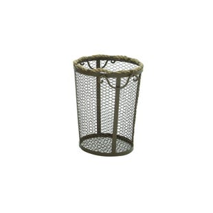 Small Metal Rope Basket