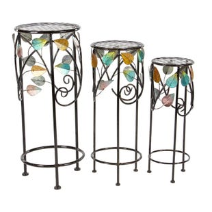 Sprung Set of 3 Plant Stands