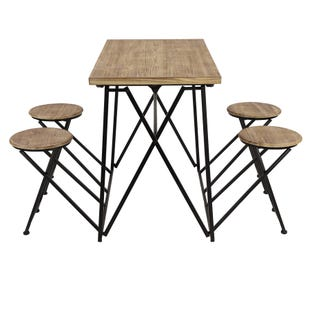 Richmond Space Saving Collapsible Dining Set