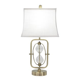 Hourglass Gold Table Lamp
