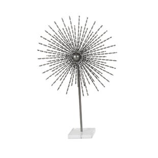 Silver Metal Acrylic Star Sculpture Large