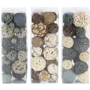 Assorted Dried Deco Ball Boxes