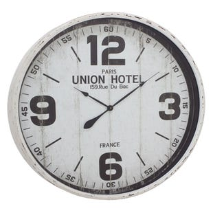 Paris Union Hotel Wall Clock