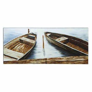 Row Boat Canvas Art