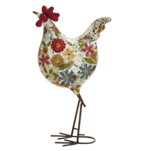 Bright Metal Rooster