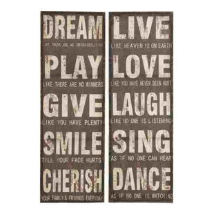 Text Wall Decor