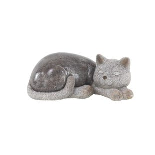 Sleepy Kitty Sculpture