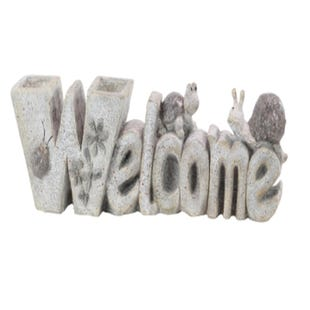 Indoor/Outdoor Welcome Sign