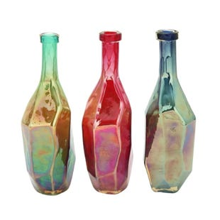 Assorted Multi-Colored Bottles