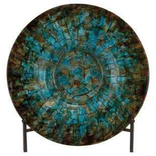 Sadie Teal Multi-Glass Charger with Stand