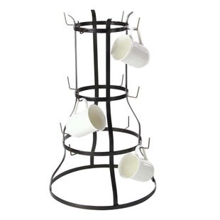 Large Metal Mug Rack