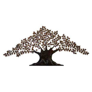 Metal Wall Tree Decor