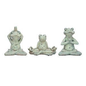 Assorted Yoga Frogs