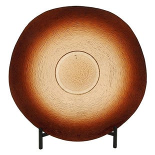 Brown Ombre Bowl with Stand