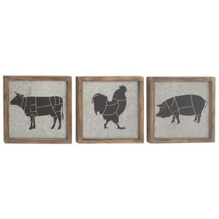 Assorted Barn Animal Decor