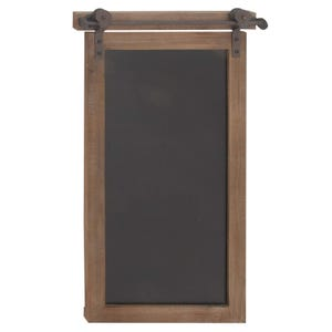 "28"" Metal and Metal Chalkboard"
