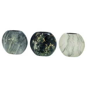 Assorted Marble Modern Vases