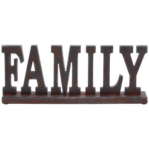 Family Wooden Sculpture