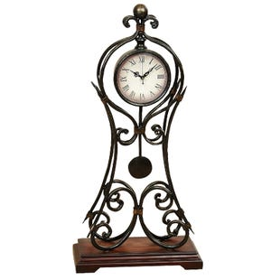 Pendulum Traditional Table Top Clock