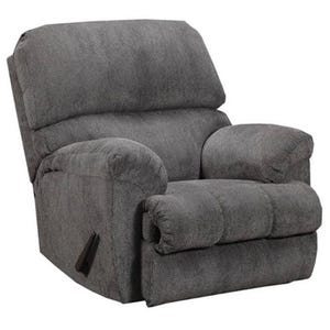 Simmons Harlow Charcoal Chenille Recliner