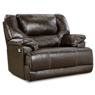 Simmons Brown Bingo Power Cuddler Recliner