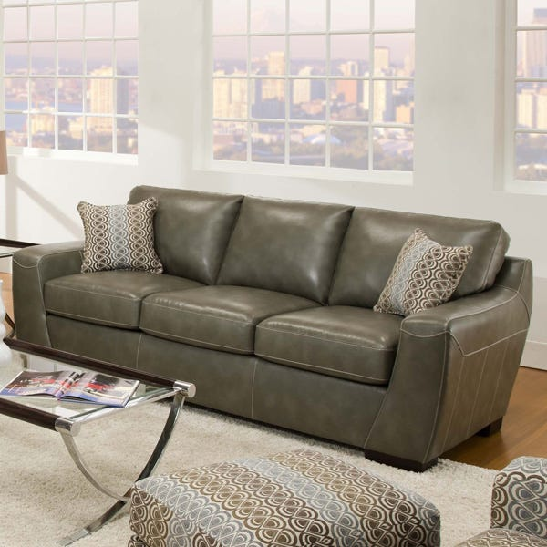 Simmons Cantina Bonded Leather Sofa