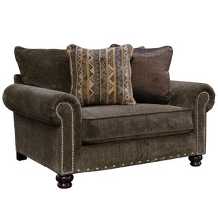 Jackson Avery Chenille Chair and Half