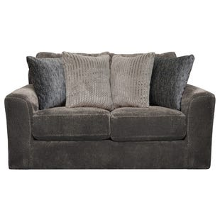 Midwood Smoke Chenille Loveseat