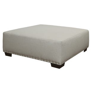 Maison Cream Cocktail Ottoman