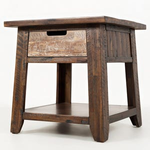 Jofran Painted Canyon End Table