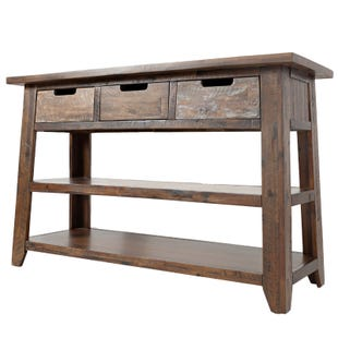 Jofran Painted Canyon Sofa Table