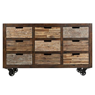 """Painted Canyon Brown 60"""" TV Stand"""