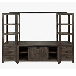 Jofran Madison County Barnwood Wall Unit