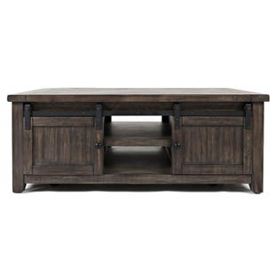 Madison County Rustic Barn Door Coffee Table