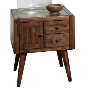 Jofran Modern Living Brown End Table