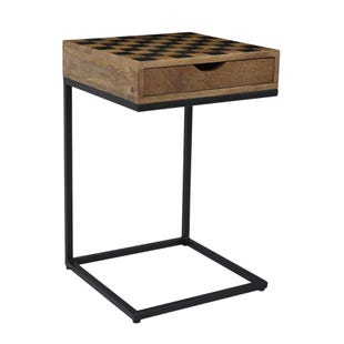 Global Archive Brown/Metal Checkerboard C-Table