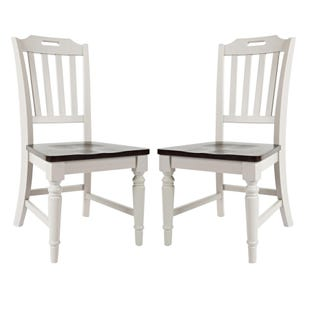 Orchard Park Soft Gray Set of 2 Chairs
