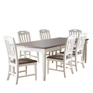 Orchard Park Soft Gray 7 Piece Dining Set