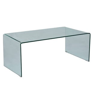 Jofran Clarity Tempered Glass Cocktail Table