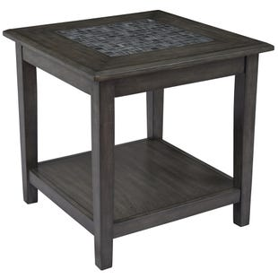 Jofran Mosaic Grey End Table